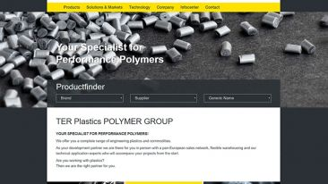 New homepage www.terplastics.com