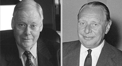 Founding of TER HELL PLASTIC Manfred Meimberg KG by M. Meimberg (left), W.Westphal (right).